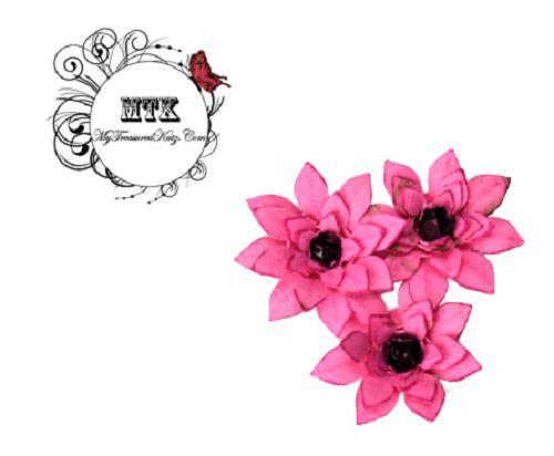 ".6/""  NEW My Treasured Kutz 4073 /""Minature 3D Nature/'s Beauty Lotus/"" Size"