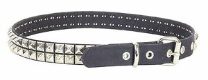 UK Style Rock Studded Double Row Gold Stud Leather Belt Punk Metal,Thrash