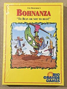 "New Sealed BOHNANZA Card Game /""To Bean or not to Bean!/"" Rio Grande Games"