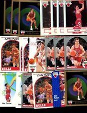 JOHN PAXSON BULK  LOT OF 20  CARDS BULLS FIGHTING IRSH CHICAGO DAYTON OHIO