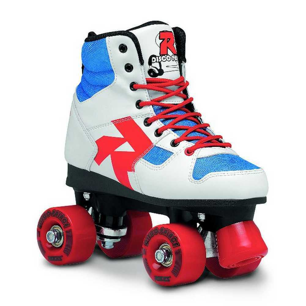 Roces Unisex Disco Palace Fitness Quad Skates Roller Skate ROT/Weiß/Mint 550039