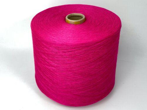 Häkeln Stricken B23a Polyacryl Pink Garn Wolle Kone 1400gr TVU Baumwolle