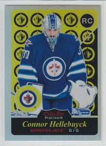 2015-16-O-PEE-CHEE-PLATINUM-CONNOR-HELLEBUYCK-RC-RETRO-RAINBOW-ROOKIE-OPC-Jets