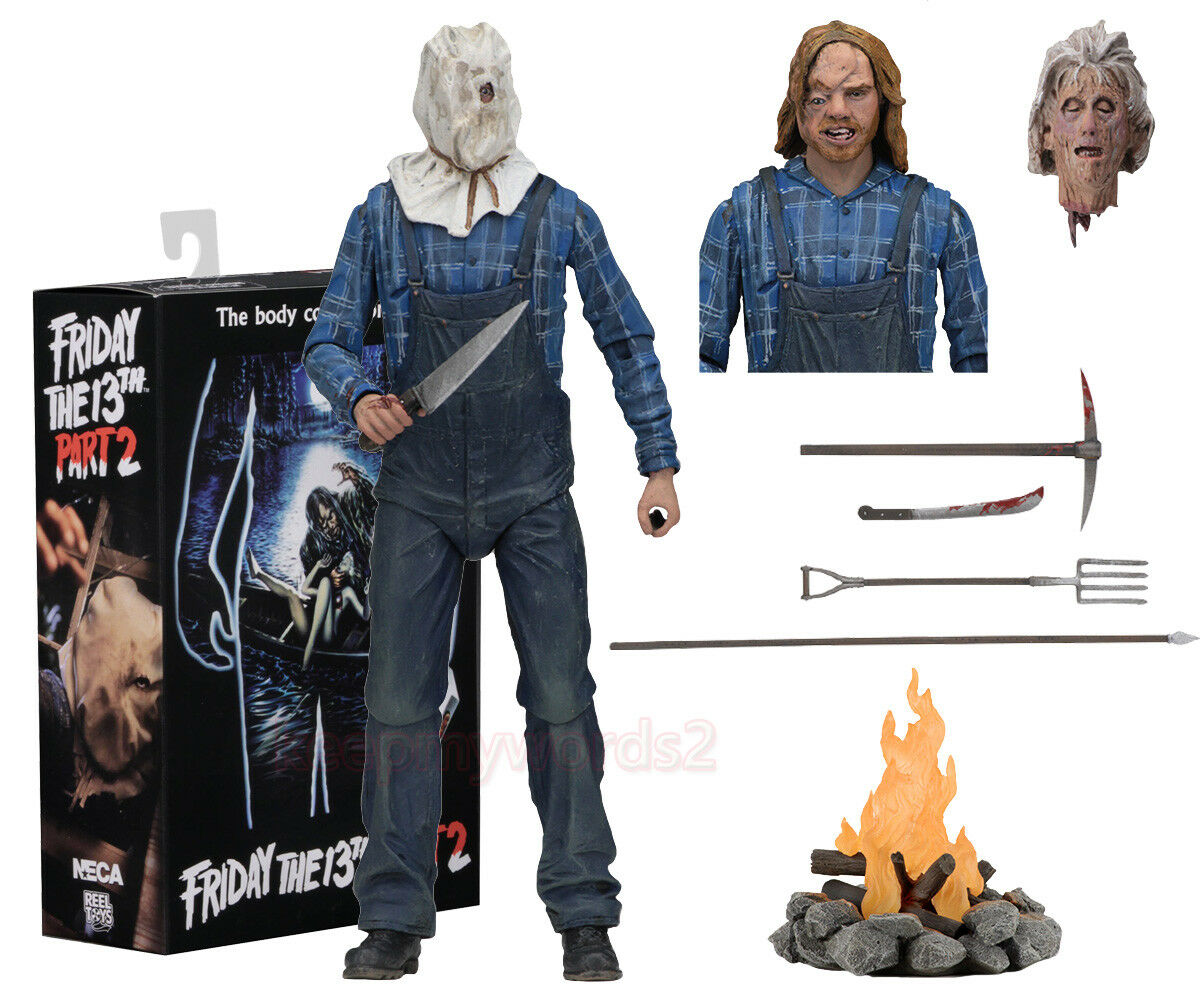 NECA Friday The 13th Part 2 Ultimate Jason Voorhees 7″ Action Figure Model Toy