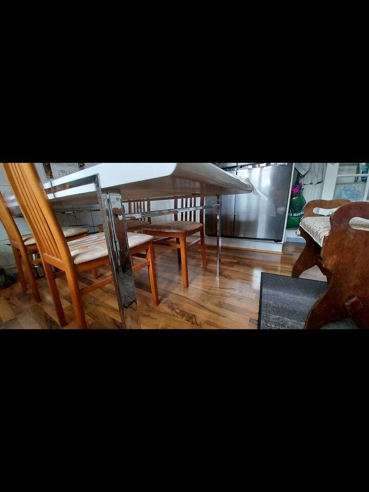 Spisebord, Træ og stål, Harwich