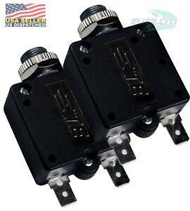 2x Potter /& Brumfield Reset Circuit Breaker W58-XB1A4A-15 250 Volt 15 Amp NEW