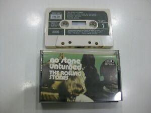 The-Rolling-Stones-Cassette-Spanish-No-Supreme-Stone-Unturned