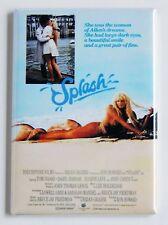 Splash FRIDGE MAGNET (2 x 3 inches) movie poster tom hanks darryl hannah