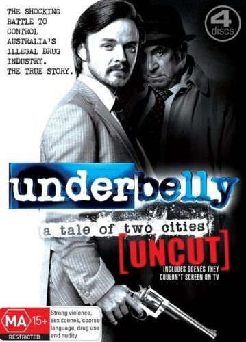 1 of 1 - Underbelly - A Tale of Two Cities (DVD, 2009, 4-Disc Set)