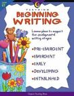 Teaching Beginning Writing by Jo Fitzpatrick (Paperback / softback, 1999)