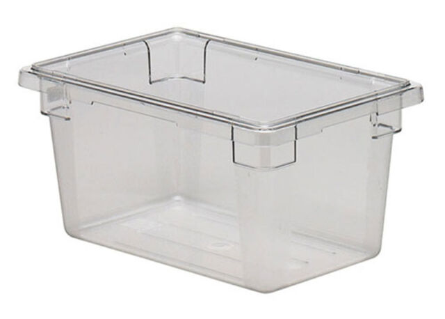 Captivating Cambro 12189CW Camwear 12in X 18in X 9in Clear Food Storage Container