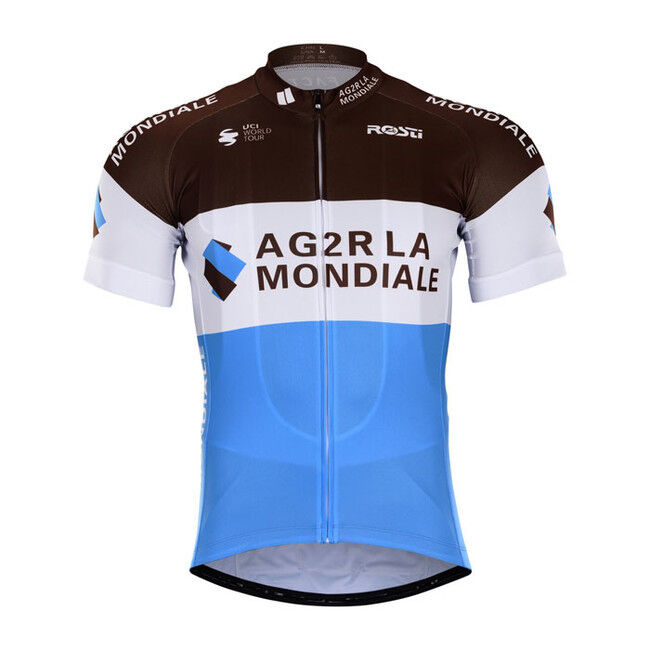 NEW 2018 AG2R JERSEY HOBBY CYCLING TOUR DE FRANCE PRO GALLOPIN BARDET