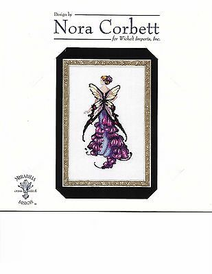 "COMPLETE XSTITCH KIT /""GERANIUM/"" NC198/"" Pixie Blossoms by Nora Corbett SALE"