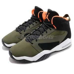 sports shoes 92841 814a8 Chargement de l image en cours Nike-Jordan-Lift-Off-Olive-Canvas-Orange-Men-