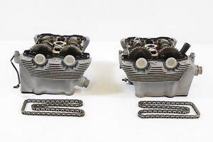 2002-Harley-VRSCA-V-Rod-Vrod-Cylinderhead-Cylinder-Head-SET-16984-04K
