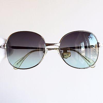100% Vero Occhiali Da Sole Desil White Gold Plated 14k Round Square Sunglasses Vintage Buono Per Succhietto Antipiretico E Per La Gola