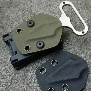Multifunktionstaillen-Waist-Clip-Scabbard-Aussen-Kunststoff-Gear-Black-Neu-Y1O9