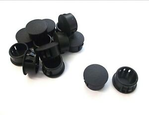 Domed-blanking-grommets-17-5mm-Round-end-Caps-Pack-of-6-Top-Quality