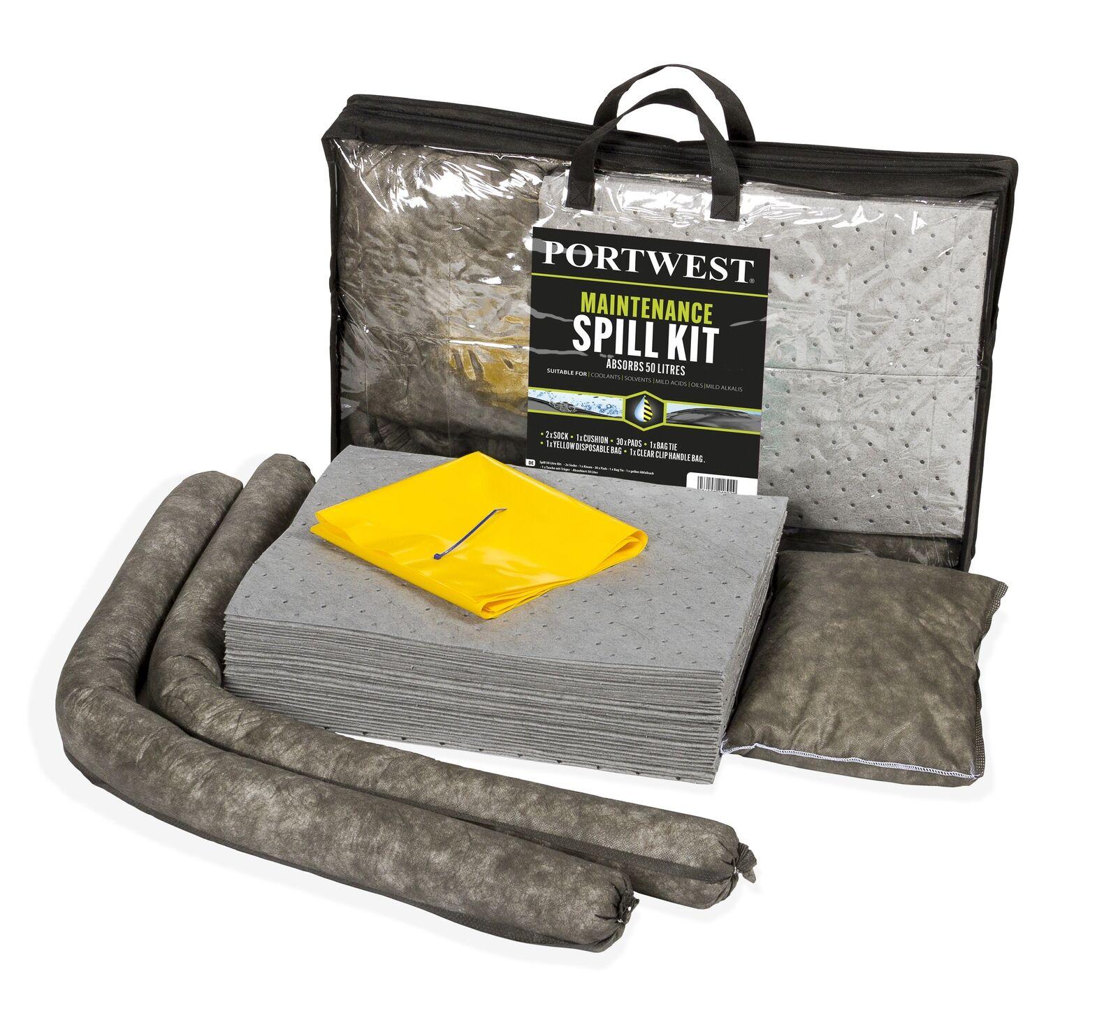 Portwest  SM31 50 litre maintenance kit (3 units)