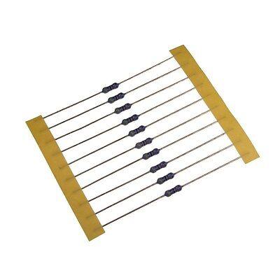 10 Widerstand 510KOhm MF0207 Metallfilm resistor 510K 0,6W TK25 0,1/% 022462