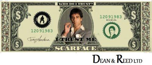Dollar D27 - Door Poster Scarface 53cm x 158cm