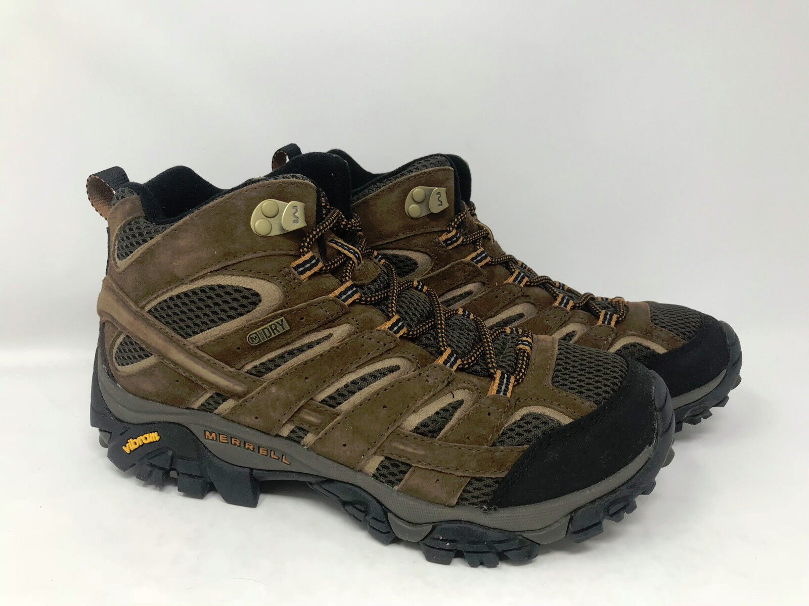 Merrell Men's Moab 2 Mid Waterproof Earth 7.5 J06051 MR1057