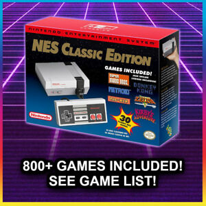 NES-CLASSIC-MODDED-with-805-Games-Nintendo-Classic-Edition-Console-NEW