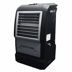 PortaCool Cyclone 1000 Portable Patio Evaporative Cooler - Manufacturer Refurbished