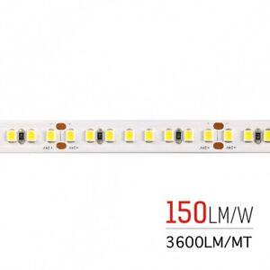 STRIP-LED-STRISCIA-800SMD2835-130W-RA80-24V-IP65-LUCE-CALDA-3000K-IMPERMEABILE