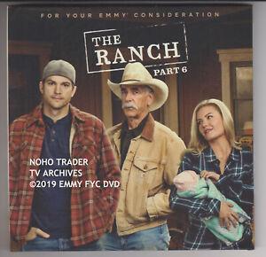 2019-Raro-Emmy-Fyc-DVD-The-Ranch-Eliseo-Cuthbert-Ashton-Kutcher-Sam-Elliot-Ecc