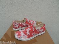 Ugg Coral Fierce Hawaii Tropical Canvas Shearling Sneakers, Us 6/ Eur 37