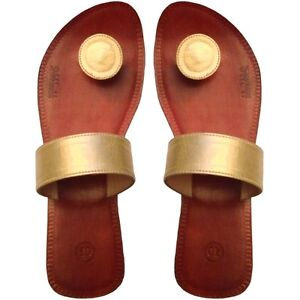 6e8ec70af FiFeet Paduka Sandals leather button-toe flip flops designer Adesso ...