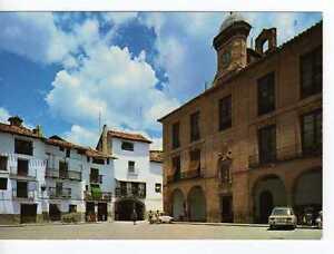 Postal Mora de Rubielos (Teruel) Plaza Ayuntamiento.