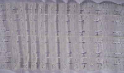 CURTAIN HEADER TAPE EASY PULL 3 INCH STANDARD WHITE 75MM