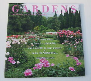 month gardens wall calendar inspirational quotes heavy
