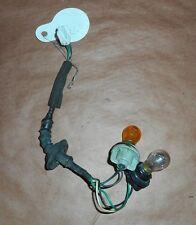 1994 94 MAZDA 626 TAIL LIGHT LAMP TURN SIGNAL HARNESS PLUG BOX # 216