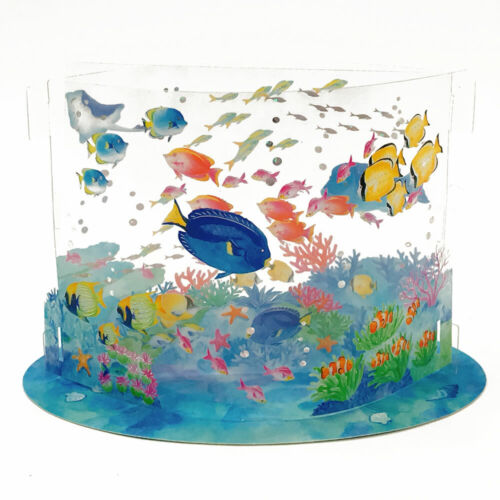 Oasis At The Sea Acrylic 3D Pop Up Card