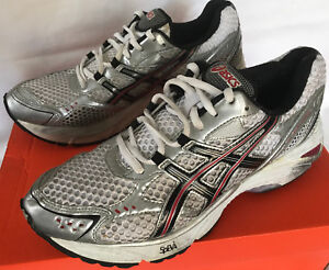 pretty nice 9d4c3 5f35c Details about ASICS Gel-Fortitude 9 T0D0N Silver Stability Marathon Running  Shoes Men's 7.5 2E