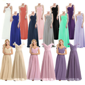d911de676ac Image is loading Sexy-Women-Wedding-Bridesmaid-Cocktail-Evening-Party-Prom-