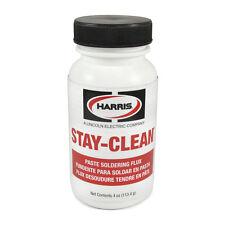 Harris Stay Clean Solder Flux Paste 4 Ounce Jar 40027 Scpf4