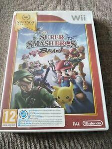 Super Smash Bros. Brawl (Wii, 2008) Vendedor de Reino Unido Envío rápido Manual Incluido