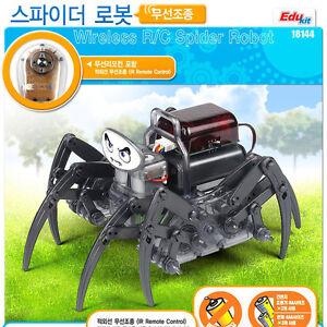 Wireless R/C Spider Robot ACADEMY  Edu Kit #18144