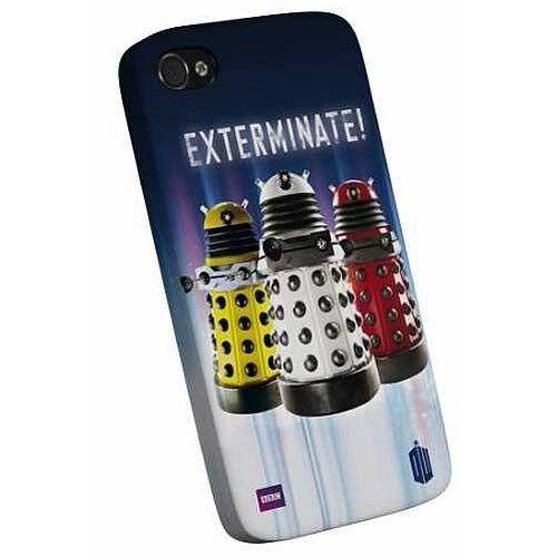 Doctor Who Dalek-sterminare i-PHONE 4 4s Snap CUSTODIA NUOVISSIMO GRANDE REGALO
