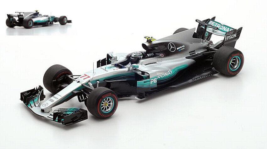 Mercedes F1 W08 V. Bottas 2017 rd Bahrain Gp 1 18 Model S18301 SPARK MODEL