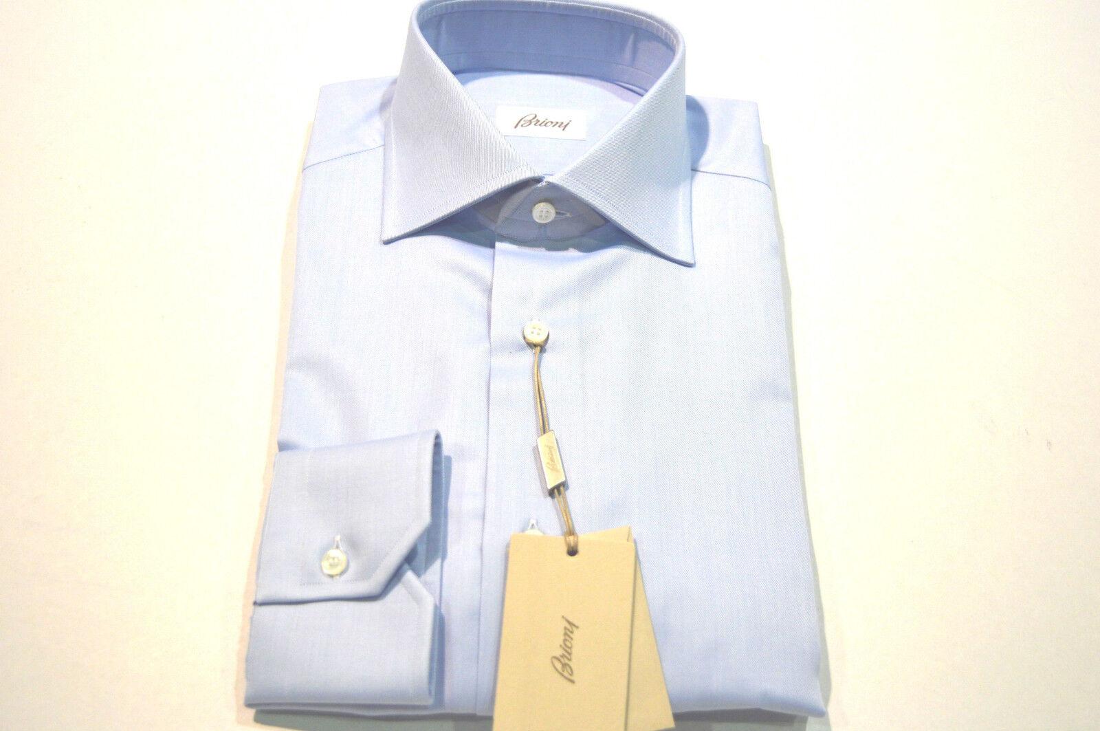 05492989 NEW BRIONI SHIRT 100% Cotton Size Us 45 Eu White (Store Code SE8) 17.75  Dress npddnk6512-Dress Shirts