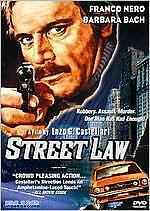 STREET LAW (Franco Nero) - DVD - Region 1 - Sealed