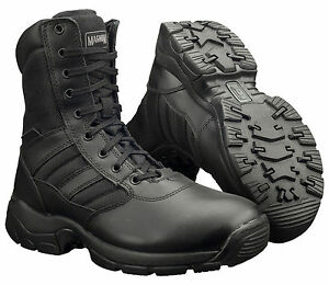 Tactical Army Mens 0 8 Panther Magnum Militaire Noires Bottes Uk4 Police 15 Combat wSq0XIH