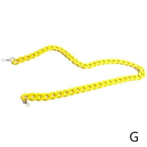 Acrylic Sunglasses Chain Women Reading Glasses Hanging Chain Glasses Chain V9W6