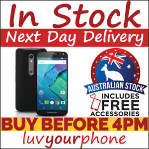 Motorola-Moto-X-Style-XT1572-Black-32GB-4G-Unlocked-AU-Model-As-New-Condition