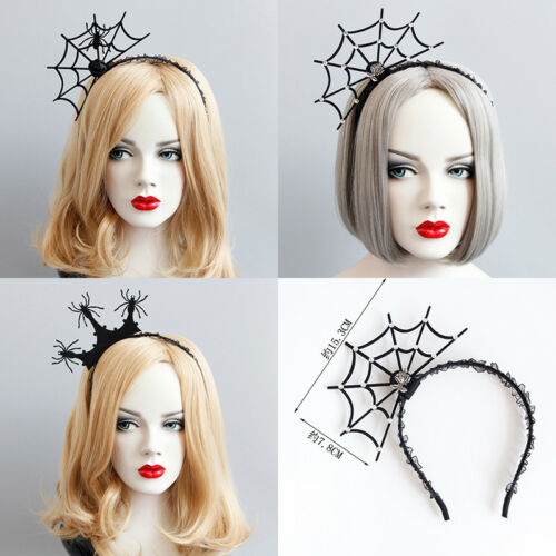 Damen Spinne Haarschmuck Krone Stirnband Masquerade Party Cosplay Ball Karneval